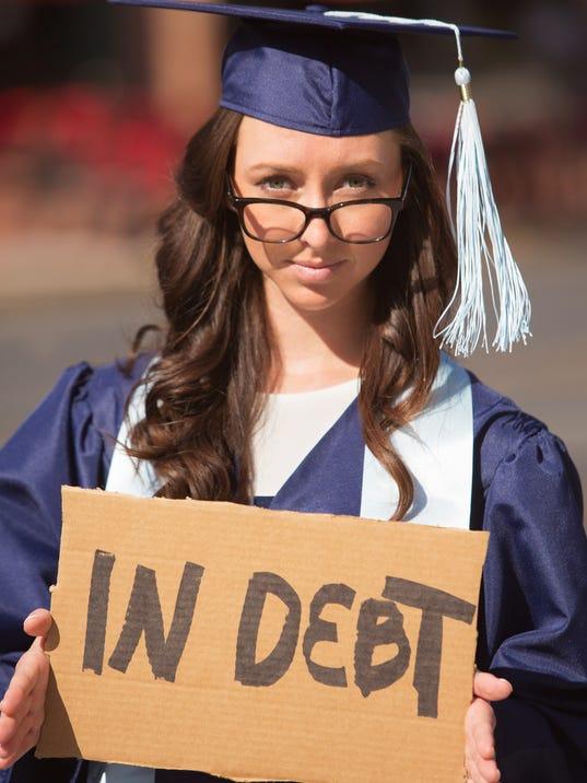 Graduate Carrying Debt