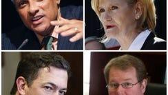 Candidates seeking election for the U.S. Senate seat