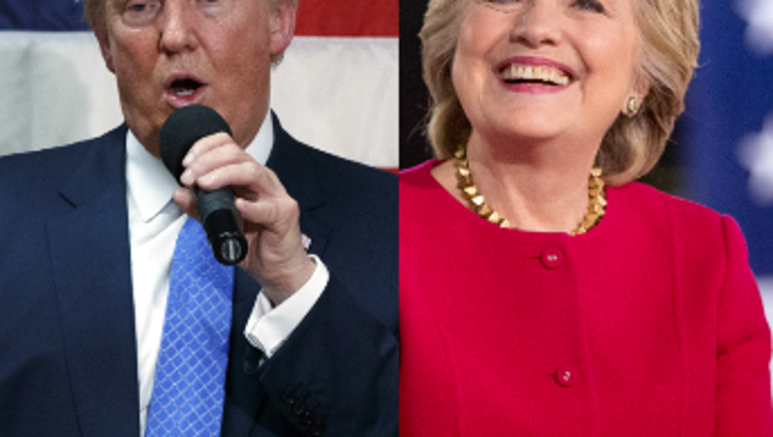 Watch Live Hillary Clinton And Donald Trump Battle In The