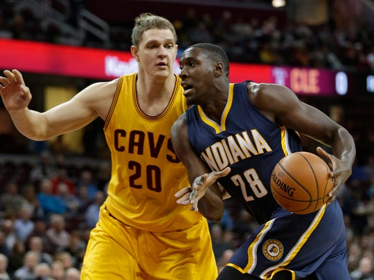Ian Mahinmi is out to prove he's more than just a defensive player.