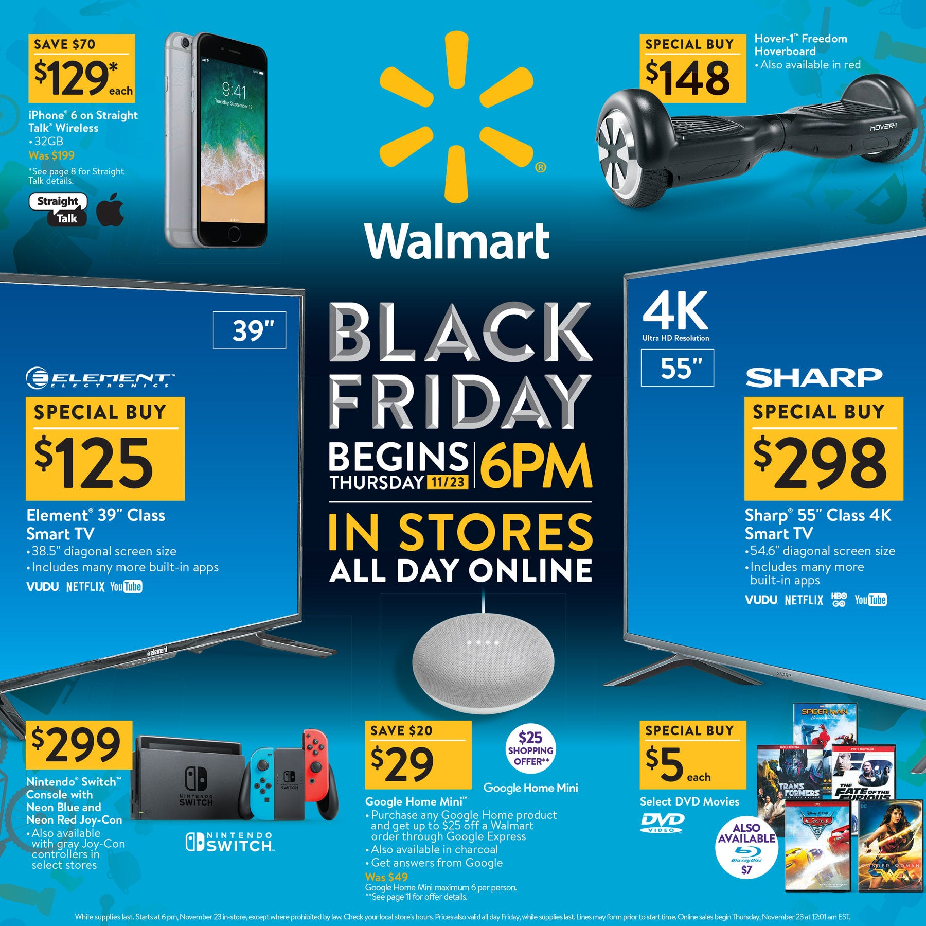 Black Friday 2017 Walmart Target Best Buy ads are out