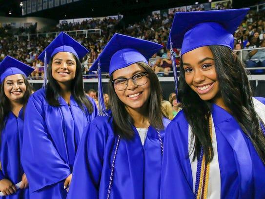 La Vergne High held its 2017 graduation ceremony Saturday,