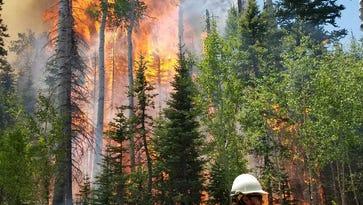 Brian Head fire reaches 4% containment