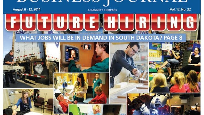 The Aug. 6 cover of the Sioux Falls Business Journal.