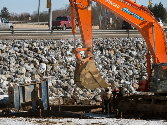 Work on the Interstate 83-Mount Rose Avenue interchange is among the congestion projects planned around York County.