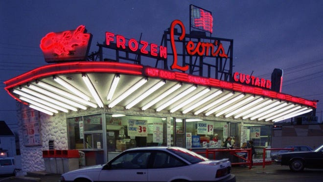Leon's Frozen Custard in Milwaukee, shown in this 2005 photo, has been open since 1942.