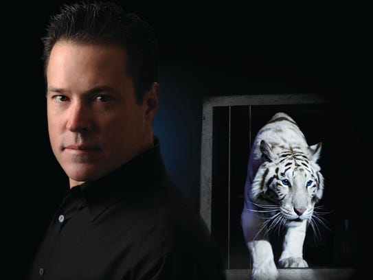 Illusionist Jay Owenhouse will bring two of his tigers