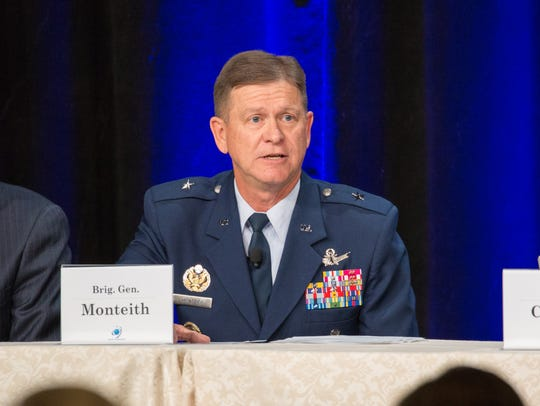 Brig. Gen. Wayne Monteith, 45th Space Wing commander