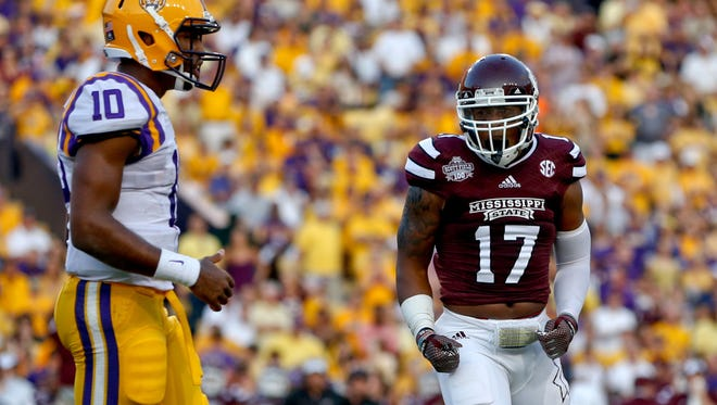 Former Mississippi State Bulldogs defensive back Deontay Evans (17) transferred to MTSU this offseason.