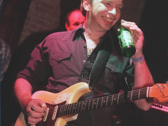 Thursday: Dave Alvin playing with the Guilty Ones at