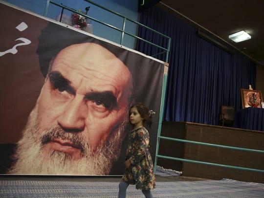 Iran Revolution Anniversary Khomeini