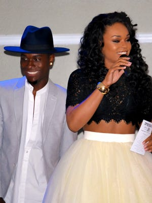 Dallas Wright and Demetria McKinney rule the stage and wow the audience.