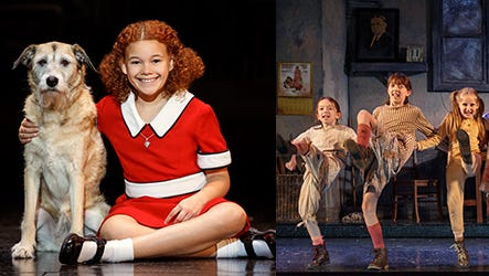 ANNIIE the musical at the Weidner Center