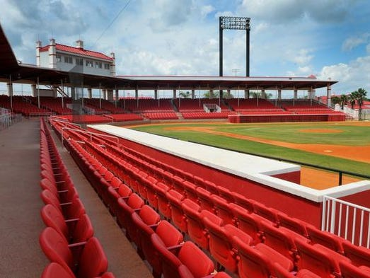 Cocoa Expo main stadium has been cleared for baseball