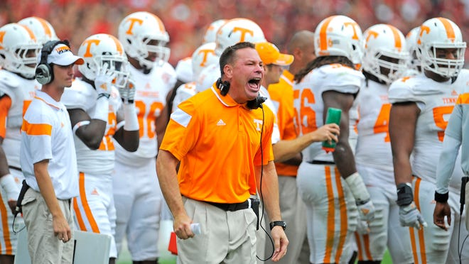 Coach Butch Jones said billboards featuring Midstate players show how important the area is to UT football.