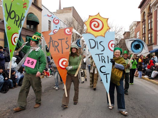 Local artists representing the Downtown York Arts District