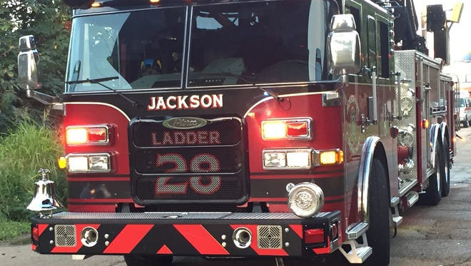 A Jackson Fire Dept. truck is shown in this file photo.