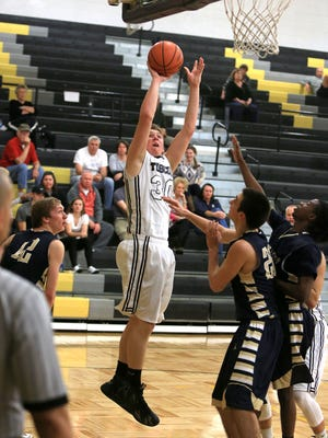 Landon Henley scored 27 points for Tuscola on Tuesday.