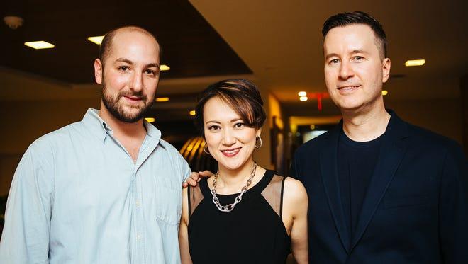 Will Slater, Yoko Miwa, Scott Goulding