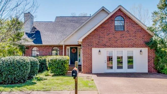 This house, at 167 Holt Hills Road in Nashville, was built in 1995 and has 2,843 square feet.
