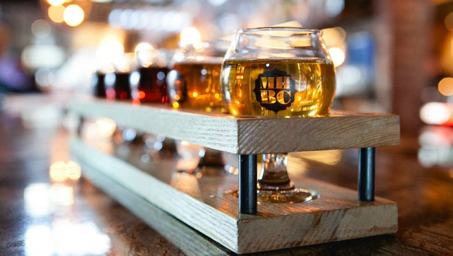 Mill House Brewing Company offers a variety of signature ales and lagers.
