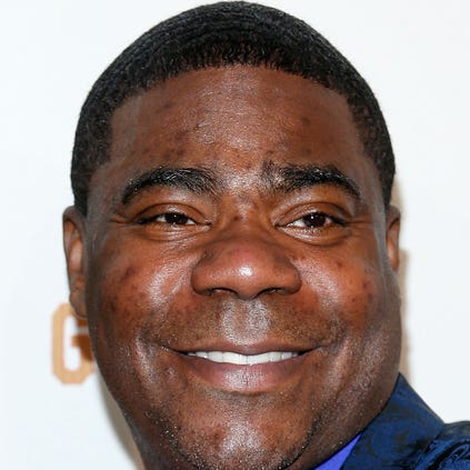 "Actor/comedian Tracy Morgan attends the FX Networks Upfront screening of ""Fargo"" at SVA Theater on April 9, 2014 in New York City."
