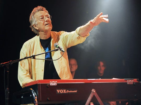 In this Aug. 16, 2012 file photo, Ray Manzarek of the