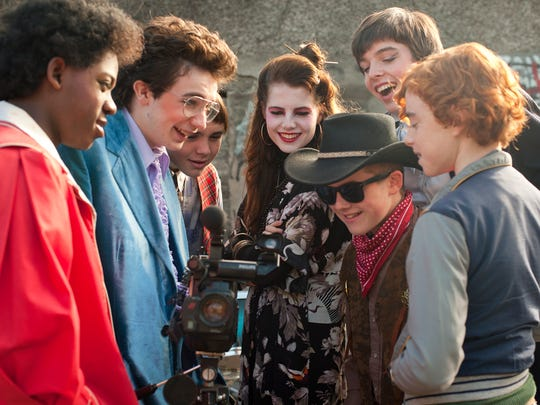 The kids work on their first music video in John Carney's