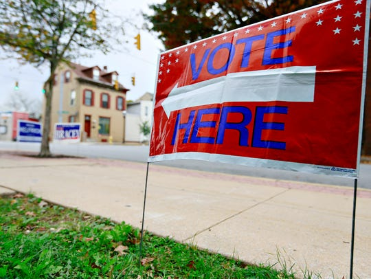 Election Day in York City, Tuesday, Nov. 7, 2017. Dawn