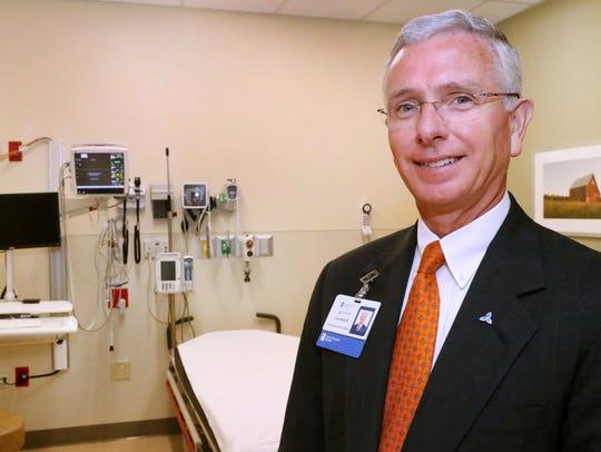 Gordon Ferguson, CEO of Saint Thomas Rutherford Hospital
