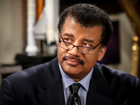 """Astrophysicist Neil deGrasse Tyson is one of the many famous scientists to guest-star on the """"Big Bang"""" and one of a few to make multiple appearances."""