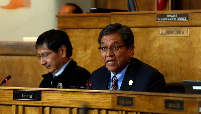 Navajo Nation Vice President Jonathan Nez and President Russell Begaye are asking President Obama to designate the nation as its own Environmental Protection Agency region.