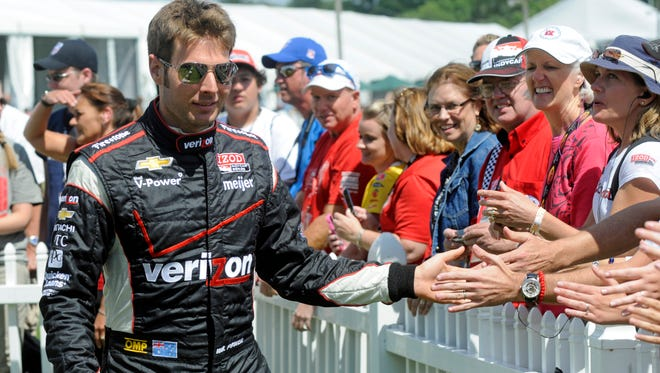 Will Power snapped a 25-race winless streak Sunday at Sonoma Raceway.
