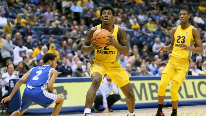 Redshirt sophomore Sacar Anim is one of Marquette's key defensive players.
