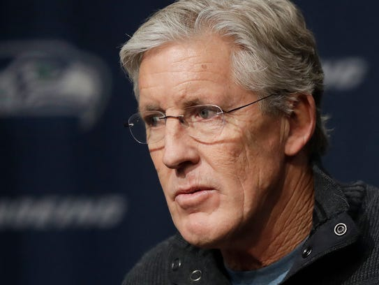 Seahawks coach Pete Carroll believes his team is still