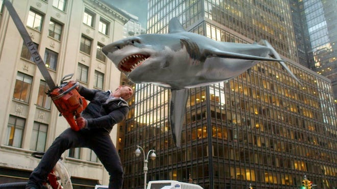 The Sharknado will hit Washington, D.C, in a third movie due in July.