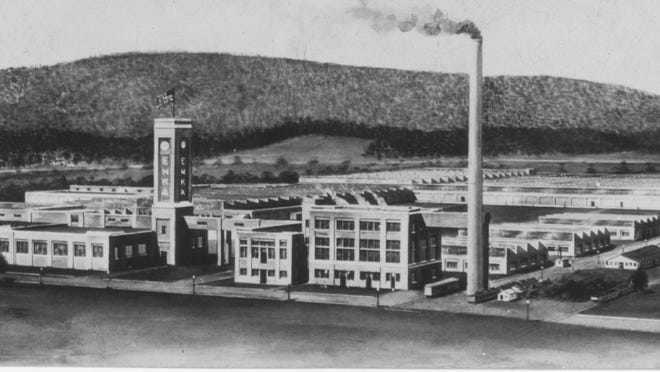 The American Enka plant began operations in July of 1929 producing rayon yarn. According to an article from 1953, the company employed 1,900 people and had a payroll of just over $2 million during its first year of operation.