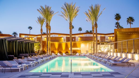 Palm Springs is getting new hip boutique hotels such
