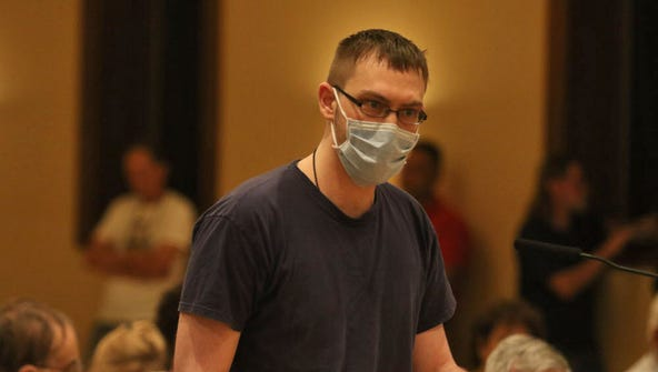 Richard Orefice, 26 years old and suffering from lymphoma