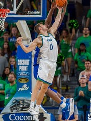 FGCU needs to be much better on the defensive glass when the Eagles play at UT Arlington on Saturday. The Eagles have given up 47 second-chance points in their last two games, both losses.