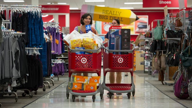 Target reported second quarter earnings Wednesday.