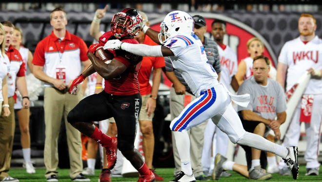 Louisiana Tech senior Xavier Woods returns as one of  Conference USA's top defensive backs for 2016.