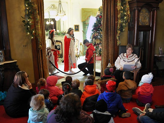 In this file photo, children visiting Santa House at the Kell House Museum enjoyed the story of The Magical Rocking Horse. They also had storytime with Santa, decorated cookies with Mrs. Claus and made a keepsake ornament.