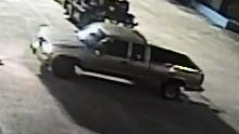 Detectives are searching for information on this vehicle, which may have been used during a hotel robbery.