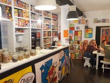 Old-world charm in Europe? Cereal cafes serving Lucky Charms