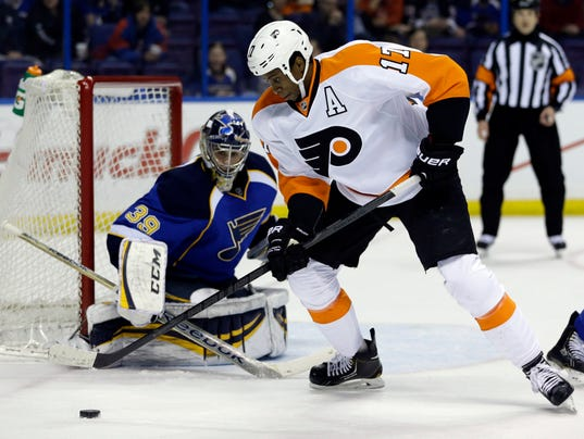 Flyers Blues Hockey