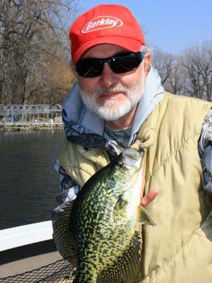 Charlie Simkins is a big fan of the early season panfish bite.