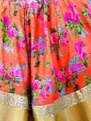 Victorian era ruffles, puffy sleeves, high-collar necklines,
