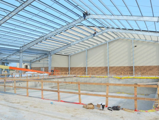 New Calallen High School pool