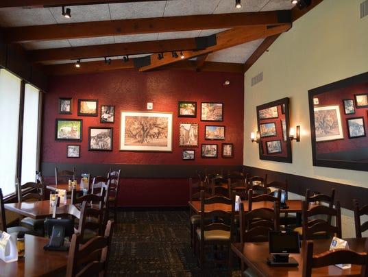 Renovations at Olive Garden